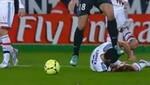 Mira como Ibrahimovic le pisa la cabeza a un jugador en el fútbol francés [VIDEO]