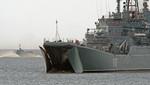 Rusia envió cinco buques al mar  Mediterráneo