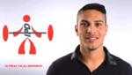 Paolo Guerrero incentiva práctica del deporte mediante spot publicitario [VIDEO]