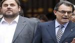 España: Artur Mas firma pacto con Junqueras para que Cataluña celebre consulta en 2014