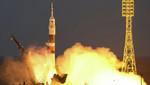 Hoy despegó la nave Soyuz TMA-07M