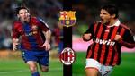 Champions League: Barcelona chocará en octavos con el Milan y Real Madrid recibirá al Manchester United