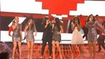 Demi Lovato actúa en la final de Factor X junto a las Fifth Harmony [VIDEO]
