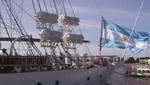 Argentina: fragata Libertad partió hacia Buenos Aires
