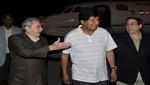 Evo Morales arribó a Cuba y visitará a Hugo Chávez