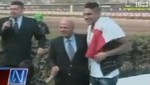Paolo Guerrero fue homenajeado en el Jockey Club del Perú [VIDEO]