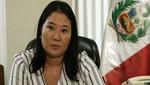 Keiko Fujimori envió saludos por Navidad