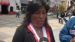 La congresista Natalie Condori afirmó estar  a favor del aumento por representación