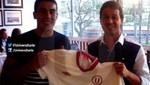 Universitario le dio la bienvenida a los uruguayos Diego Guastavino y Sebastián Fernández
