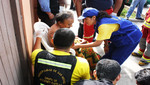 Rápida reacción de serenos de San Miguel salva la vida de anciano
