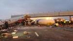 Accidente aéreo deja cuatro muertos en aeropuerto de Rusia [VIDEO]