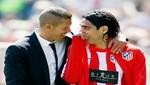 Diego Simeone: Radamel Falcao es el mejor jugador que he dirigido en mi vida