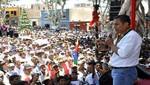 Ollanta Humala ofrecerá un saludo por Año Nuevo