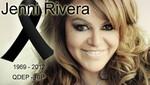 Jenni Rivera: sus restos fueron enterrados en California