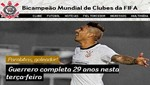 Corinthians saludó a Paolo Guerrero en su cumpleaños 29