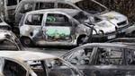 Más de 1.200 autos fueron quemados en Francia durante la noche de Año Nuevo