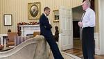 Revelan foto de Obama cuando se entera del tiroteo en Newtown