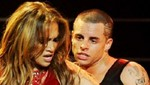 Jennifer Lpez ech flores a su novio Casper Smart