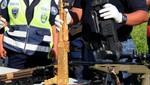 Incautan en Honduras un AK- 47 bañado en oro
