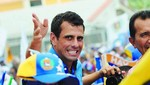 Capriles pide a los presidentes latinoamericanos que no viajen a Venezuela