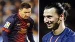 Zlatan Ibrahimovic se burló de la estatura de Lionel Messi