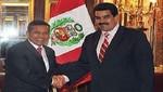 Nicolás Maduro: Ollanta Humala es un compañero de lucha