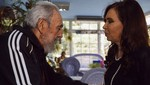 Cristina Fernández se reúne con Fidel Castro en Cuba [FOTOS]