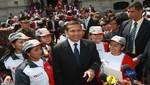 Ollanta Humala despide a jóvenes de Beca 18