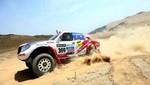 Ramón Ferreyros abandonó el Dakar 2013 por problemas mecánicos en su auto