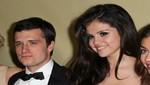 Selena Gómez y Josh Hutcherson se divirtieron juntos en los Globos de Oro [FOTOS]