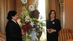 Argentina: Cristina Fernández se saludó con Maradona en Abu Dhabi