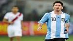 Lionel Messi jugaría un partido en Lima a beneficio de su ONG
