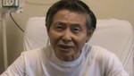Afirman que un grupo médico  evaluará la salud de Alberto Fujimori