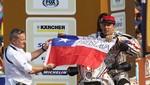 Chilenos apoyan el acto hecho por el piloto chileno que usó un quepí en Chorrillos