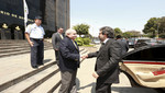 Premier visitó el Ministerio de Defensa