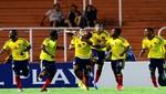 Colombia venció 2-1 a Ecuador por el Sudamericano Sub20