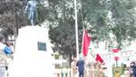 Izaron el Pabellón Nacional por aniversario de sociedades patrióticas de Tacna