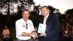 Embajador de Francia, Jean-Jacques Beaussou, rinde homenaje a los pilotos del Rally Dakar 2012