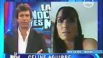 Madre de Celine Aguirre: 'Nosotros no choleamos a nadie'