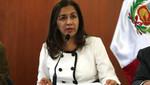 Marisol Espinoza asumirá presidencia por viaje de Ollanta Humala