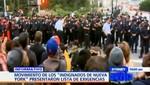 Estados Unidos: 'Indignados marchan hacia el Wall Street'