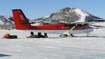 Desaparece un avión con tres canadienses en la Antártida