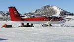 Encuentran al avión que se había desaparecido en la Antártida
