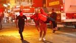 Brasil: los bomberos tuvieron una ardua labor para apagar incendio de discoteca [VIDEO]