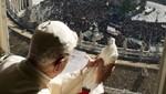 Una gaviota atacó la paloma de Benedicto XVI [FOTO]