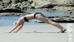 Miley Cyrus derrochó sensualidad con bikini negro [FOTOS]