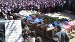Siria: encuentran 65 jóvenes muertos por disparo en la cabeza