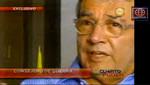 Hugo Otero criticó a Luis Favre en el programa Cuarto Poder