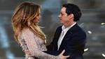 Jennifer Lopez presta apoyo a su ex Marc Anthony