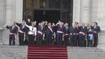 Ollanta Humala se reunió con ministros en Palacio
